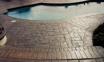 Grand Rapids Concrete Pool deck